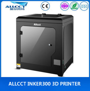 LCD-Touch 300X300X300mm Building Size 0.05mm Precision Whole Sealing 3D Printer pictures & photos