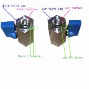 Stainless Steel Thread Mf Mini Ball Valve pictures & photos