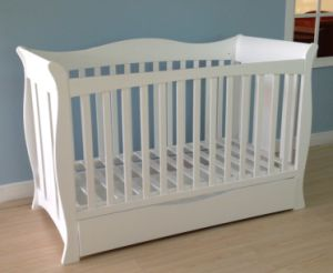 Baby Cot Bed, Baby Furniture (3 in 1) Sq-1342