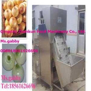 Automatic Onion Skin Peeling Machine / Onion Peeler pictures & photos