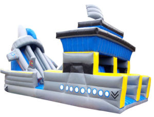 Inflatable Castle Boat (HT-J090326-1)