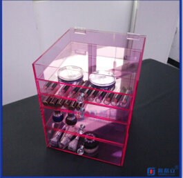 Wholesale Vanity Glam High Quality Acrylic Makeup Organizer pictures & photos