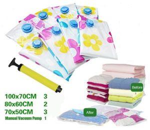 SGS Cert Ziploc Storage Bag/Space Bag/ Vacuum Seal Bags Set pictures & photos