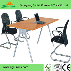 Square Steel Wood Lab Bench Furniture China (HL-GM023) pictures & photos