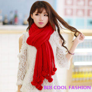 New Design Hot Selling Fashion Scarf (Cyx-101) pictures & photos
