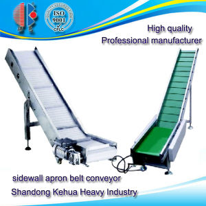 Sidewall Apron Belt Conveyor for Powder and Granular Material