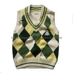 Boy Infant Intarsia Vest (KX-B11)