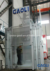 Safety and Popular 2 Tons Sc100/100 Frequency Conversion Building Hoist pictures & photos