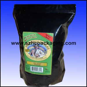 Stand up Coffee Package Bag with Zipper