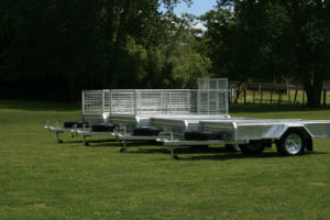 7X4 Galvanised Box Trailer with Ramp pictures & photos