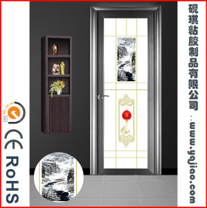 China Factory Price Best Quality Wood Grain PVC Film for Door pictures & photos