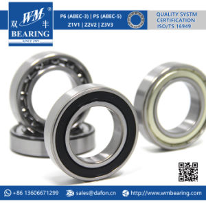 6008 2RS Low Friction Sealed Deep Groove Ball Bearing pictures & photos