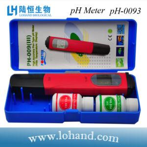 Pocket Size Portable pH /Temp Tester/Sensor with Atc (pH-0093) pictures & photos