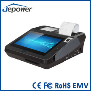 Jp762A Android System POS Terminal with Thermal Printer/ Card Reader/NFC/2D Barcode/3G pictures & photos