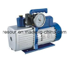 Vacuum Pump (with vacuum gauge and solenoid valve) for Refrigeration, Vp160, Vp180, Vp1100 pictures & photos