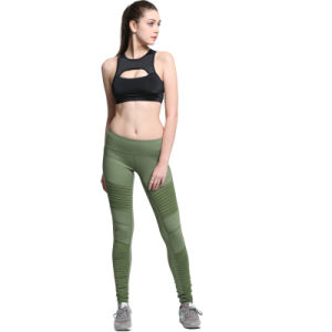 Yoga Wear Compression Sports Gym Bra Workout Leggings pictures & photos