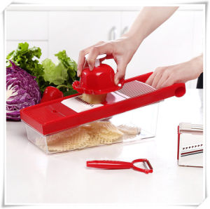 7 Blades Kitchen Tool Vegetable Fruit Shredder (VK17006) pictures & photos