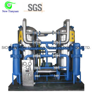 Equalizing Pressure Regeneration CNG Natural Gas Dehydration Unit/Drying Unit pictures & photos