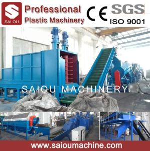 Waste Pet Plastic Recycling Machine Line pictures & photos