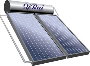 Compact Pressure Flat Panel Solar Water Heater pictures & photos