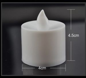 Birthday Props LED Smokeless Tasteless Remote Control Romantic Electronic Candle Lamp pictures & photos