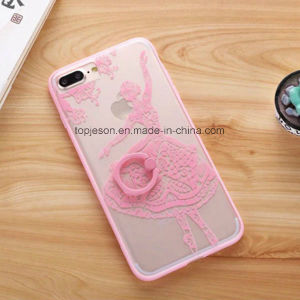 Lace Wedding Dress with Holder Anti Fall Phone Case for iPhone 7/7 Plus pictures & photos