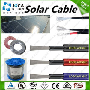 TUV Certificate Excellent Resistance to Abrasion 1X4.0mm2 Solar Cable pictures & photos