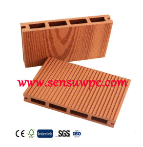 Sensu Cheap and High Quality WPC Decking From China pictures & photos
