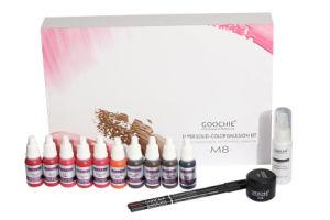 Goochie M8 Newest Painless Permanent Makeup Pigment Set pictures & photos