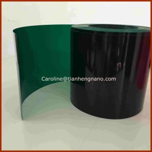 Green Color Rigid PVC Film for Christmas Tree Leave and Garland