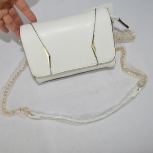 fashion PU Ladies Handbag with Long Shoulder pictures & photos