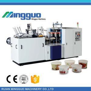 Full Automatic Paper Salad Bowl Machine with Ultrasonic pictures & photos