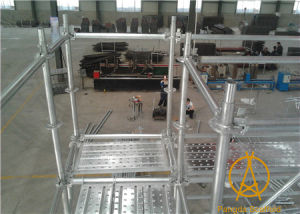 Hot DIP Galvanized Ringlock Scaffolding pictures & photos
