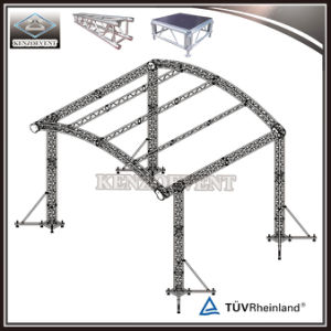 Factory Price Aluminium Studio Truss Curved Roof Truss For Concert Sc 1 St  Guangzhou Kenzo Performance Equipment Co. Ltd.