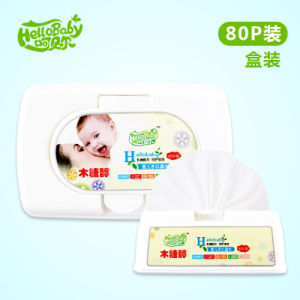 80PCS Box Package Baby Wipe Factory, Wholesale Baby Wipe, Alcohol Free Baby Wet Wipe pictures & photos