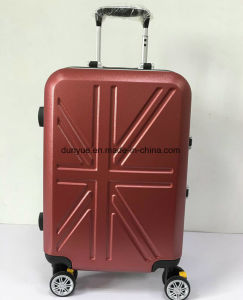 "Durable 20"", 24"", 28"" Aluminum Frame Portable Trolley Bag, Factory Make PC Material Travel Luggage Suitcase with Wheels"
