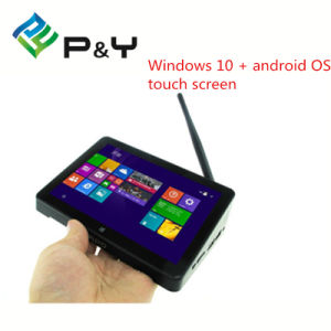 P&Y Factory Price +High Quality Pipo X8 Windows 10 + Android 4.4 Dual Boot Intel Smart TV Box pictures & photos