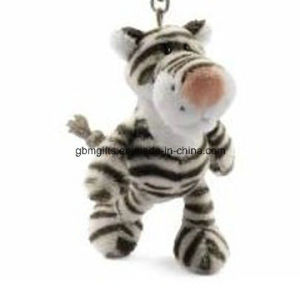 Free Sample Plush Keychain/Tiger Plush Toys/Plush Keychain pictures & photos