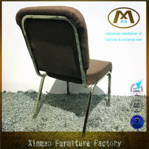 2016 Factory Direct Sale Stacking Metal Chrome Frame Design Church Chair pictures & photos