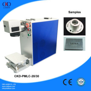 Portable Fiber Laser Marker Engraving Machine with Ce pictures & photos