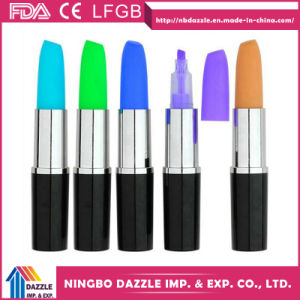 The Best Highlighter Pen Lipstick Shape Marker Highlighter pictures & photos