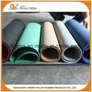 1-1.2m Width EPDM Rubber Floor Mat Rubber Roll for Gym pictures & photos