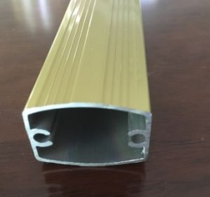 Aluminum Extrusion/Extruded Aluminum Pipe for Product Parts pictures & photos