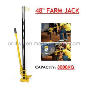 Farm Jack 48′′ 7000lbs with 14 Kg Wet Weight pictures & photos