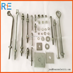 Hot DIP Galvanized Double Arming Bolt pictures & photos