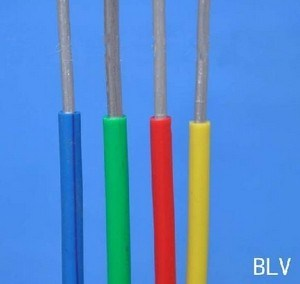 450/750V Blv Alumimun Conductor PVC Insulated Electric House Wire pictures & photos