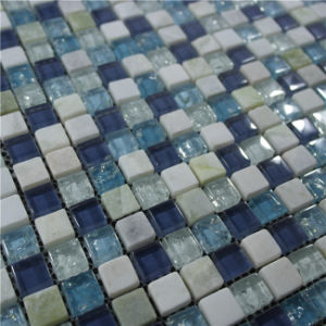 Blue Color Various Use Swimming Pool Glass Mosaic Blend pictures & photos