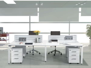 Fashion Office Partition with Metal Leg Workstation pictures & photos