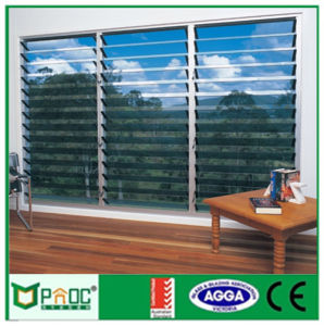 Aluminium Adjustable Glass louver with Blade Made in Shanghai pictures & photos