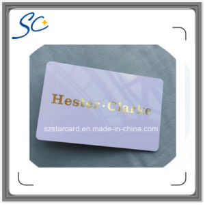 Fashion Foil Stamping RFID Card Grossy Finishing RFID Rard pictures & photos